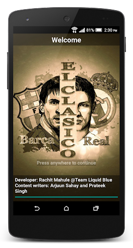 Real vs Barca Football News
