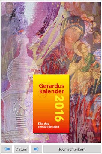Gerarduskalender 2016