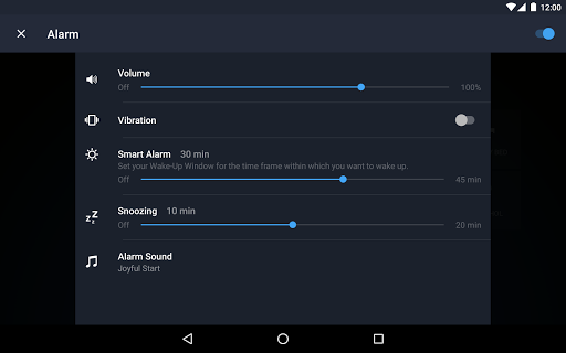 Runtastic Sleep Better: Sleep Cycle & Smart Alarm 2.6.1 screenshots 22