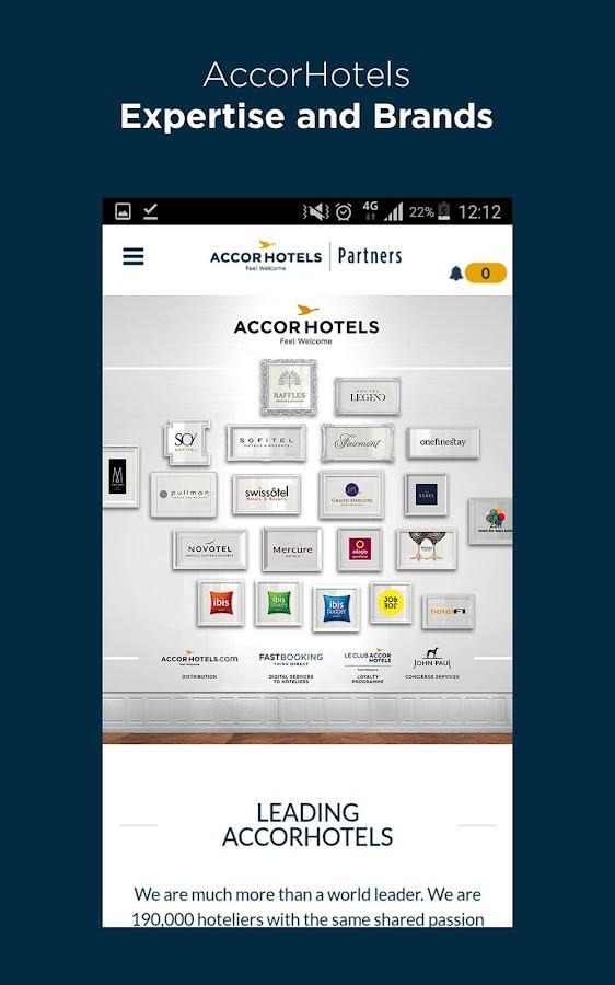 Accorhotels Partners Screenshot