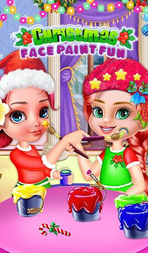 Christmas Face Paint Fun