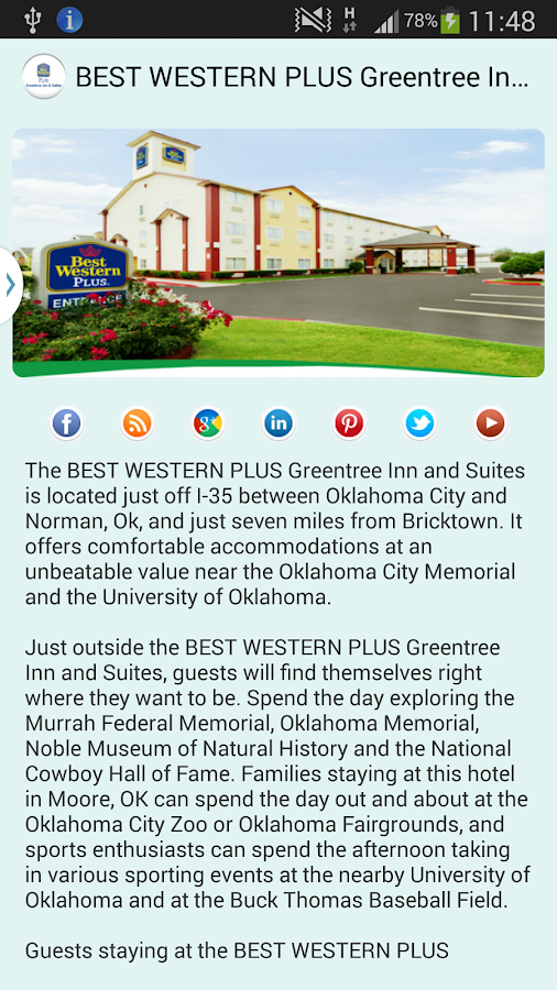 BW PLUS Greentree Inn & Suites- screenshot
