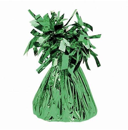 Ballongtyngd - Grön folie