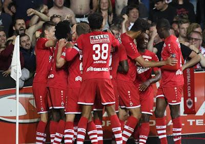 L'Antwerp renvoie Antoine Bernier, Laurent Mendy, Gael Kakudji et Gouné Niangandou dans le noyau B