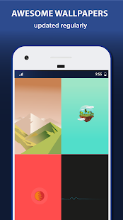 Wallhill Wallpapers App - náhled
