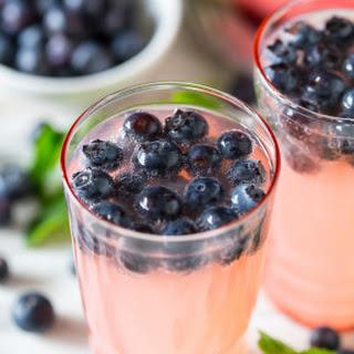 Watermelon Blueberry Mint Spritzer