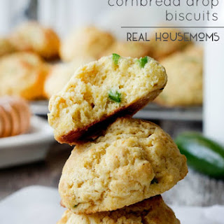 Honey Jalapeno Cornbread Biscuits