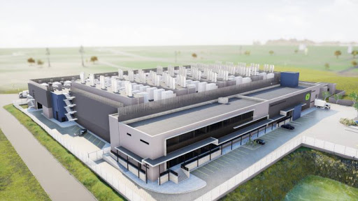 Artist rendition of the new Cape Town facility.