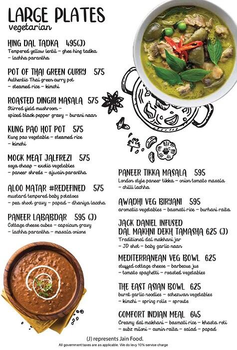 Tamasha menu 11