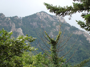 Photo: Cable-car of Mt. Seorak
