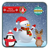 Christmas Themes Stickers