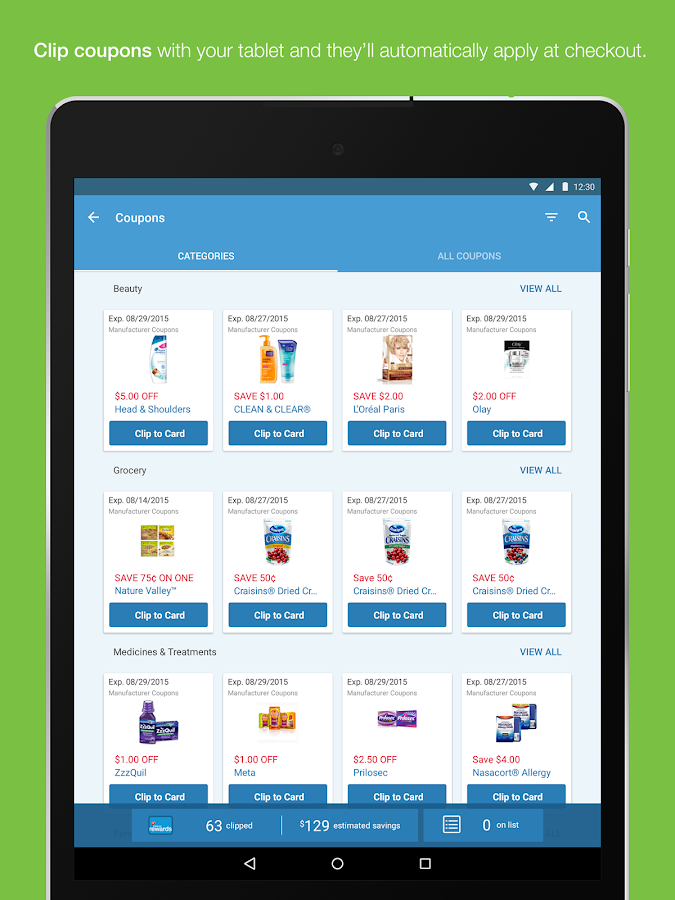 Walgreens- screenshot
