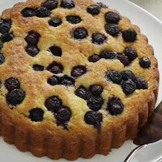 Blueberry Orange Cake.