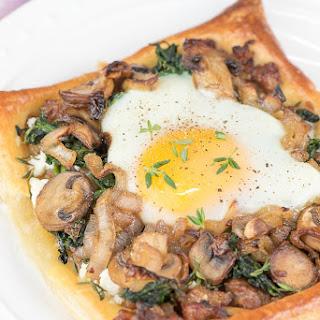 Sausage Mushroom & Egg Galette Recipe