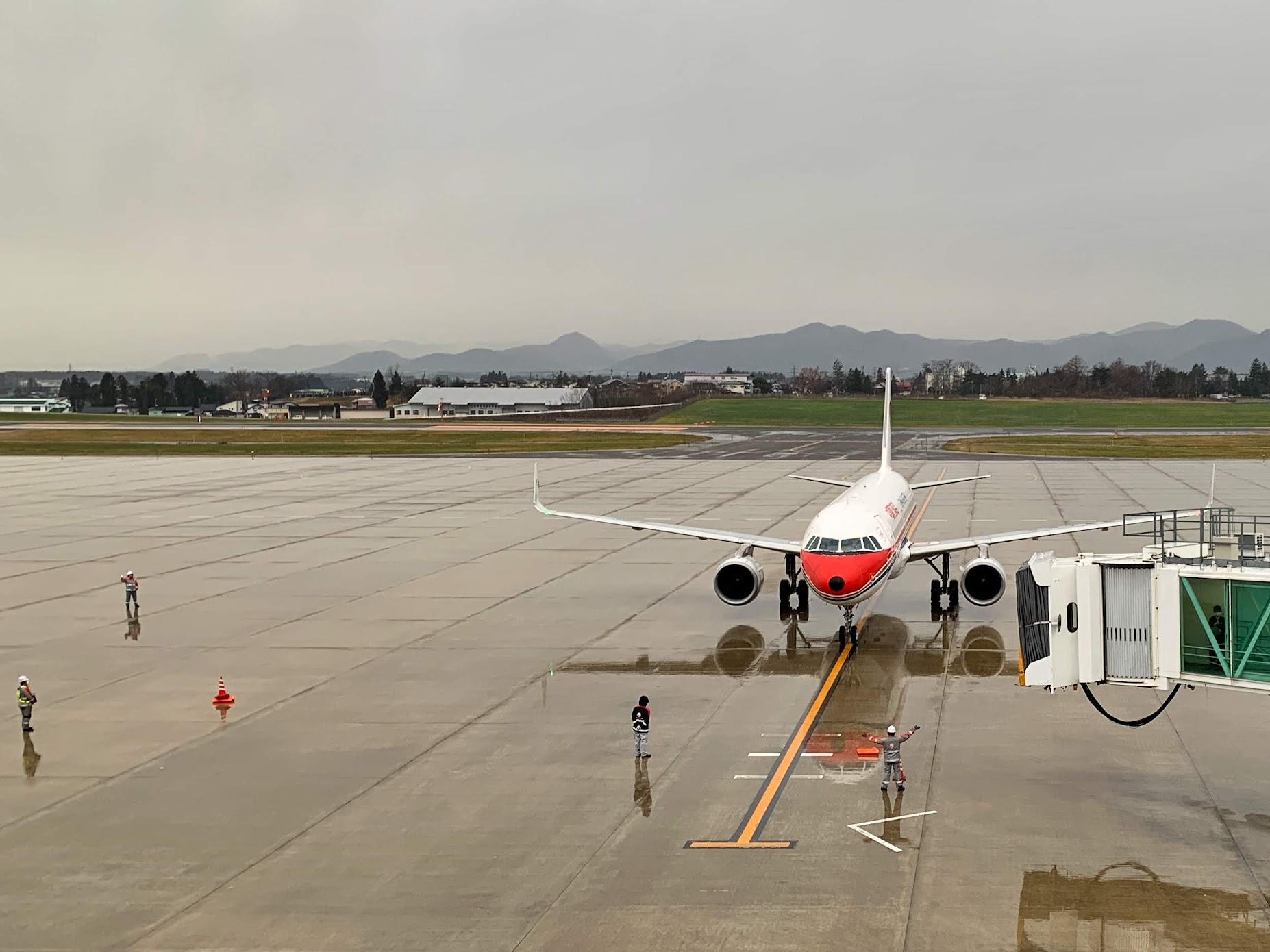 続・いわて花巻空港に行ってきました②