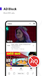 screenshot of UC Browser Turbo - Fast Video Downloader, Ad Block