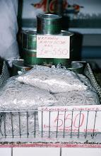 Photo: 03100 ウランバートル/風景/ダライ・エージ(海の母)/食料品専門の市場/押し出し麺