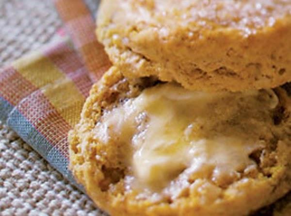 Pumpkin Biscuits With Orange-honey Butter Recipe