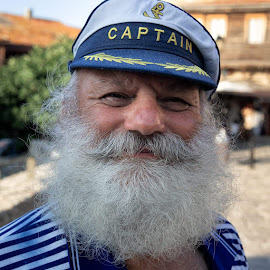 Captain  Boris by Tohat George - People Portraits of Men