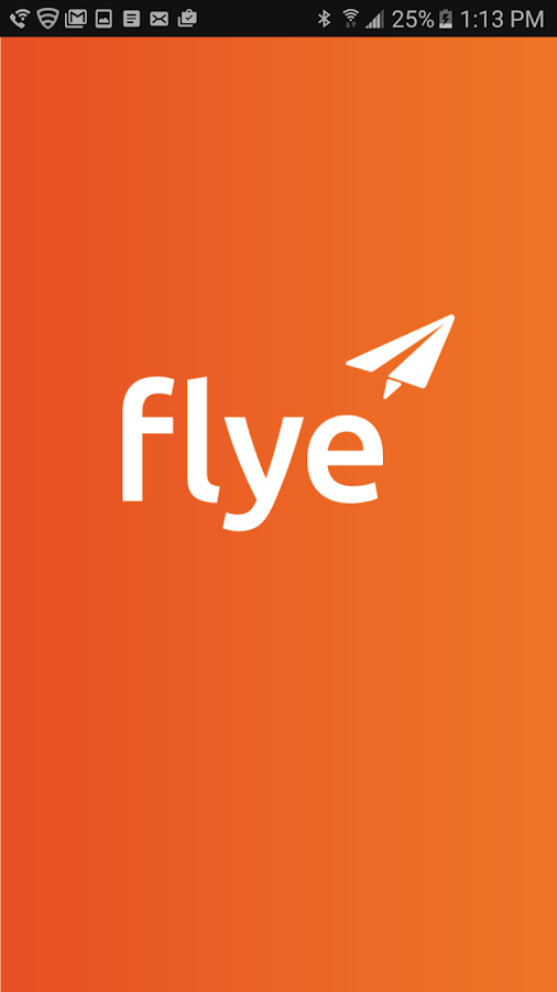 Flye Scavenger Hunt App- screenshot