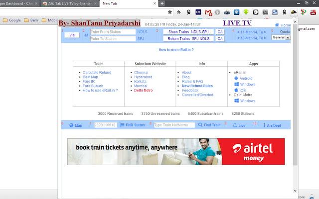 Indian rail seat availability by-Shantanu