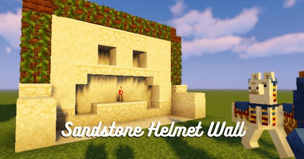 Sandstone Helmet Wall