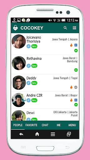 インドネシアの友達作り COCOKEY INDONESIA