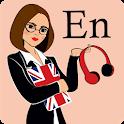 Language Learning Flashcards: ENGLISH LINDUO icon