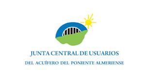 Logo de Junta Central de Usuarios del Acuífero del Poniente Almeriense.