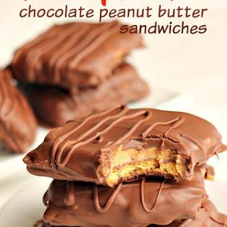 Disneyland's Chocolate Peanut Butter Sandwich