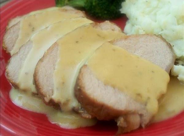 Honey, Mustard, Rosemary Roast Pork Recipe