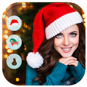 Christmas Santa Hat Camera & Photo Editor