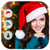 Christmas Santa Hat Camera & Photo Editor