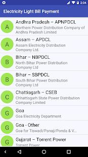 Electricity Light Bill Payment - náhled
