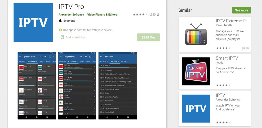 تحميل IPTV Pro