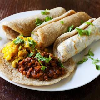 Injera, Authentic Ethiopian Fermented Flatbread