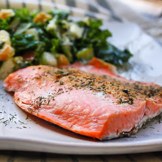 Rosemary Salmon with Orange Zest {Paleo}