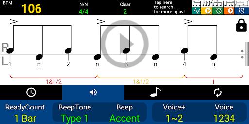 Drum Beat Metronome 1.10.2 screenshots 2