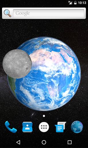 3D地球动态壁纸