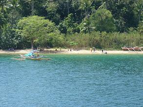 Photo: Ferry from Dalahican to Marinduguqe island, northern part of island