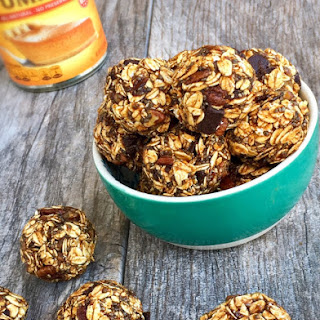 No-Bake Pumpkin Spice Energy Bites