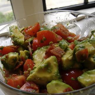 *Avocado, Bacon and Tomato Salad*