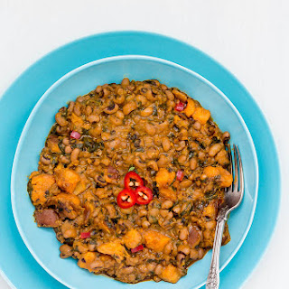 One-pot black-eyed beans and sweet potato recipe (bean and sweet potato pottage) – West African Flavors