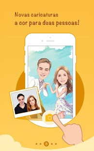 MomentCam Cartoons e Emoticons: miniatura da captura de tela