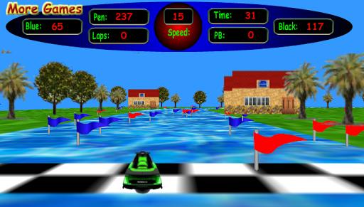 3D Jet Ski Racing FREE Version