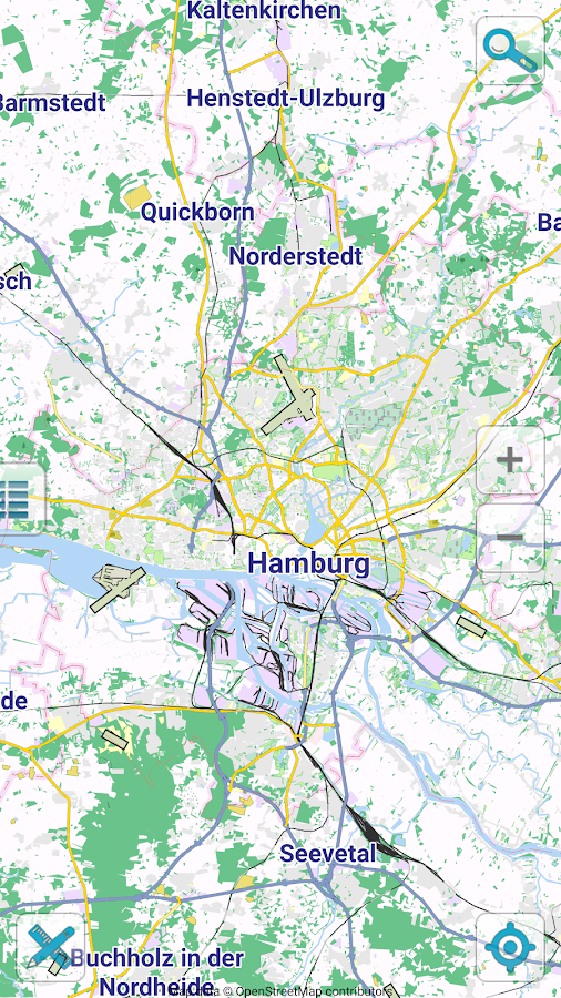 Map Of Hamburg Offline Android Apps On Google Play - Quickborn germany map