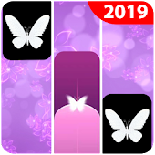 Purple Butterfly Piano Tiles  2019