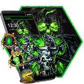 Skull Horror Launcher Theme Android APK Download Free By ThemesDesignStudio