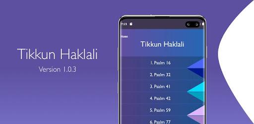 Tikkun Haklali - Apps on Google Play
