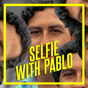 Fake Photo Selfie with Pablo Escobar photo frame